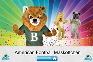 American Football Verein Kostüme Maskottchen Karneval Produktion Firma Bau