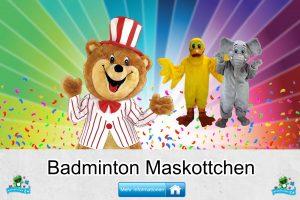 Badminton Verein Kostüme Maskottchen Karneval Produktion Firma Bau