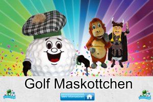 Golf Verein Kostüme Maskottchen Karneval Produktion Firma Bau