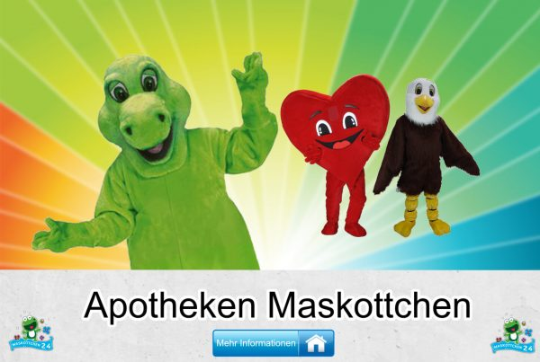 Apotheken Kostüme Maskottchen Karneval Produktion Firma Bau Apotheken