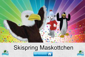 Skispringen Verein Kostüme Maskottchen Karneval Produktion Firma Bau