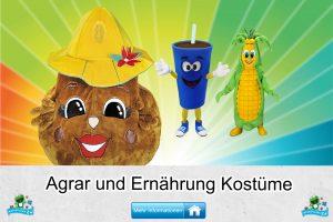 Agrar Ernährung Kostüme Maskottchen Karneval Produktion Firma Bau