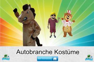 Autobranche Kostüme Maskottchen Karneval Produktion Firma Bau