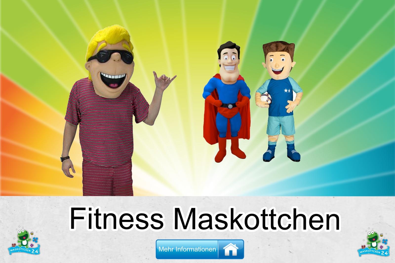 Fitness Maskottchen Kostüm kaufen