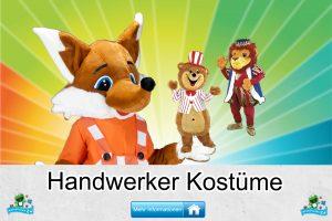 Handwerker Kostüme Maskottchen Karneval Produktion Firma Bau