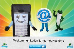 Telekommunikation Internet Kostüme Maskottchen Karneval Produktion Firma Bau